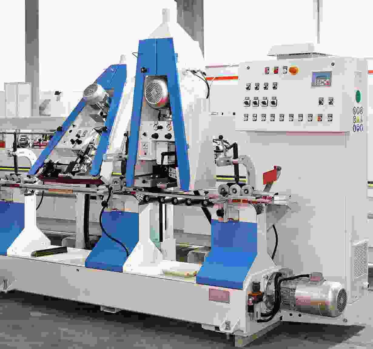 Automated machine line